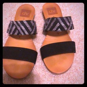 DV slip on sandals